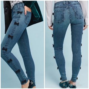 McGuire Newton Skinny Bow Jeans